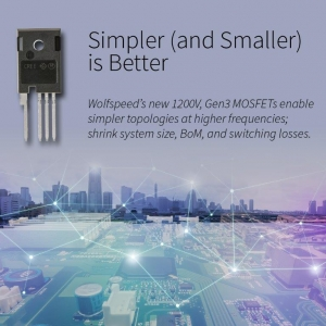Third-Generation SiC MOSFET Platform expanded to 1200V