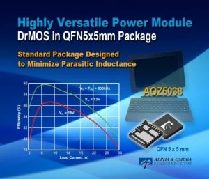 Highly Versatile DrMOS Power Module