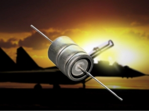 Ruggedized Axial-Leaded Aluminum Electrolytic Capacitor Meets Specs from -40 ° to +150 °C