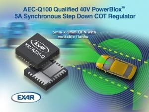 AEC-Q100 Qualified Family of 40V PoL Regulators