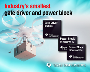 Double Power Density with New Motor Control Devices