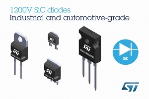 1200V Silicon-Carbide Diodes Deliver Superior Efficiency