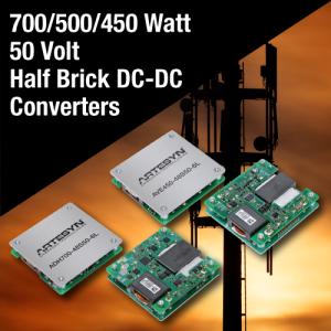 50 Volt DC-DC Bricks Enable GaN Wireless Power Amplifiers