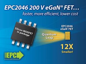 200 V Gallium Nitride Power Transistor