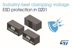 ESD-Clamping Diodes in 0201 Package