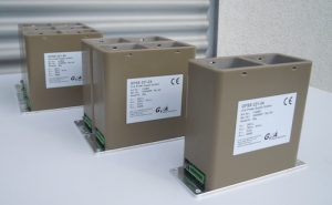 Highly Efficient Power Supply System with High Dielectric Strength