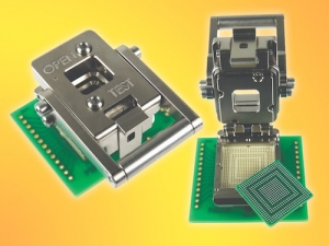 Lever Actuated Spring Pin Socket for NXP's MCU