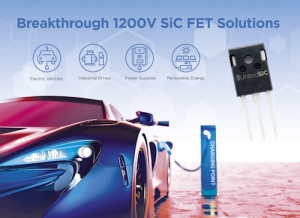UnitedSiC's 1200V SiC FETs Deliver Industry Upgrade Path for IGBT, Si, SiC-MOSFET Users
