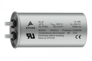 TDK Introduces Robust Series of Compact AC Filter Capacitors