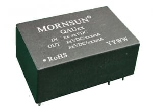 High Isolation Dual Regulated Output DC/DC Converter QAU242D2G Specialized for IGBT Drivers