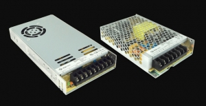 Chassis Mount AC-DC Power Supplies Housed in Low-Profile Metal Case