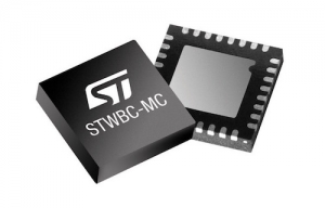 Advanced Qi-Compliant Transmitter from STMicroelectronics Ensures Fast and Stable 15W Multi-Coil Wireless Charging for Mobile Devices