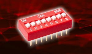 C&K Launches Fully-Sealed Construction DIP Switch