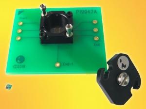 52GHz Bandwidth Socket for 0.35mm Pitch BGA