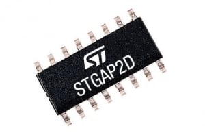 Dual-Channel 4A Gate Driver from STMicroelectronics Integrates Galvanic Isolation and Protection Features