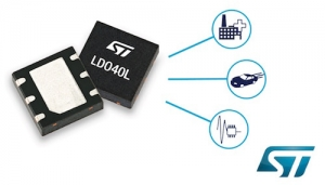 Energy-Saving Low-Noise LDO Regulator from STMicroelectronics Powers Automotive Modules and Smart Automation