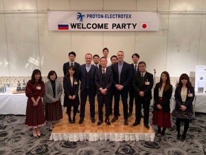 Proton-Electrotex Visits the Official Distributor in Japan