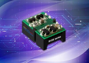 Isolated Surface-mount DC-DCs are 62368-1 Certified and Offer Power Bipolar Loads