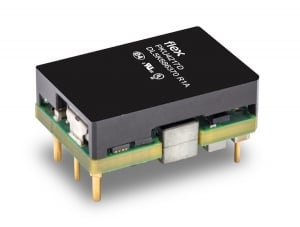 Flex Power Modules Introduces Industry's Smallest 260W DC-DC Converter in a Sixteenth-brick Footprint