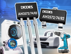 Wide Voltage Omnipolar Hall Effect Switches from Diodes Incorporated are Optimized for Industrial Applications