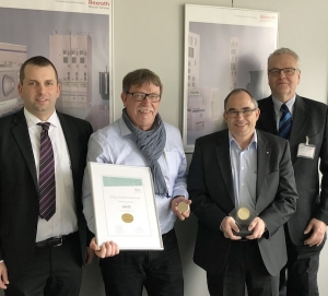 Infineon Technologies Bipolar Hands Over 100,000th Welding Diode to Bosch Rexroth