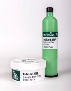 Indium Corporation Launches New Water-Soluble, Halogen-Free Solder Paste