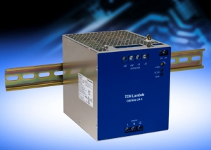 TDK Corporation Announces 95% Efficient 960W DIN Rail Power Supply With a 1440W Peak Power Capability