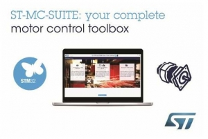 All-in-One Online Tool from STMicroelectronics Simplifies Motor-Control Designs Using STM32 and STM8 Microcontrollers