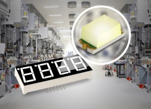 ROHM Announces New High-Reliability 1608-Size White Chip LED
