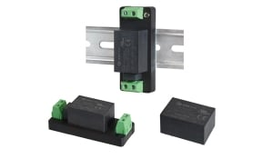 CUI's Power Group Announces 3 W and 5 W Encapsulated Ac-Dc Power Supplies That Offer Multiple Mounting Options