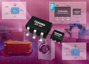 Toshiba Launches Single-Supply Single-Gate Logic Devices Supporting Low Voltage Operation