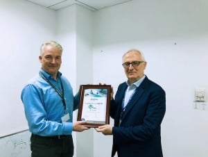 "WeEn Semiconductors Won 2018""Best Supplier Award""of Diehl Controls"