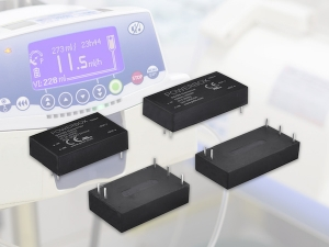 Powerbox announces 105 models of DC/DC converters featuring 2xMOPP medical approvals