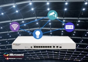 Create Cost-effective Smart Lighting Systems with Eight-port Switch that Supports New PoE Standard