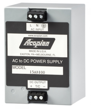 Acopian Launches Touch-Safe Linear Mini Power Supplies