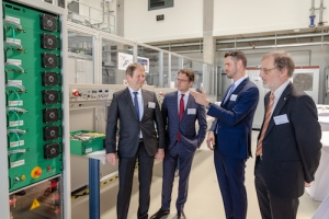 Fraunhofer Institute for Solar Energy Systems ISE Inaugurates Center for Power Electronics and Sustainable Grids