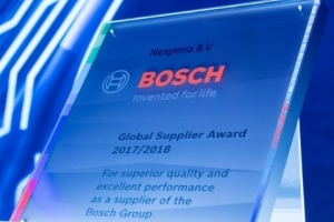 Nexperia Honored with Bosch Global Supplier Award