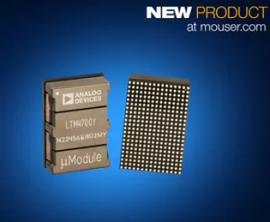 Analog Devices Power by Linear LTM4700 µModule Regulator Now at Mouser