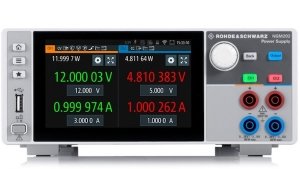 New Power Supply Series from Rohde & Schwarz Sets New T&M Standards for Battery Applications