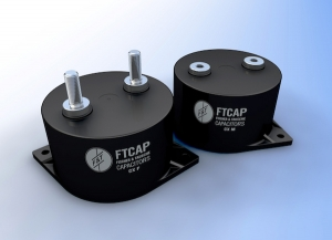FTCAP Releases Low-Inductance Film Capacitors for HIgh-Current Applications