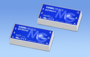 Cosel's High-Reliability 80W DC/DC Converter Comes with 10-Year Warranty