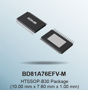 ROHM Announces New Automotive-Grade Backlight LED Driver Optimized for LCD Panels