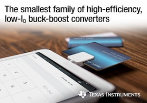 New Family of Adaptable Buck-Boost Converters Delivers up to 2.5A and Shrinks Board Space