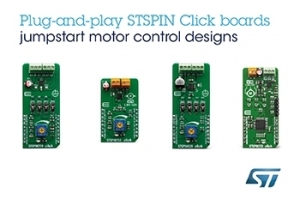 STMicroelectronics' STSPIN Modules Add High-Performing Motor Drivers to MikroElektronika Fusion for Arm Ecosystem