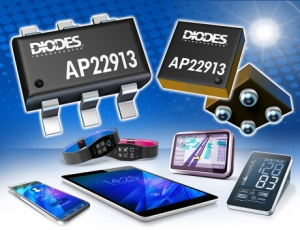 Diodes Incorporated Introduces High-Side Load Switch with Slew-Rate Control and True Reverse Current