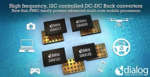 Dialog Semiconductor Launches Configurable, High-Frequency Sub-PMICs Powering Latest Mobile Processors