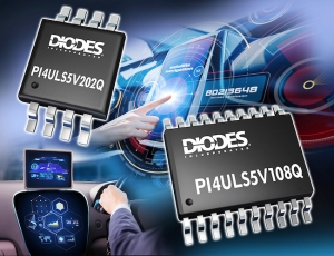 Diodes Incorporated Automotive-Compliant Level Shifters Provide High-Speed, Flexibility, and Logic Translation
