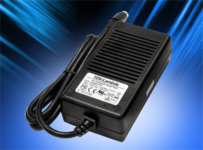 Medical 40-65W Eternal Power Supplies Comply with EU Tier 2 v5 and US DoE Level VI Efficiency Standards