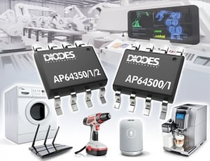 Diodes Incorporated Introduces 40V, 2.2 MHz Synchronous Buck Converters with High Efficiency Across all Loads
