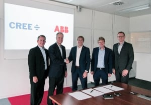 Cree and ABB Announce Silicon Carbide Partnership to Deliver Automotive and Industrial Solutions